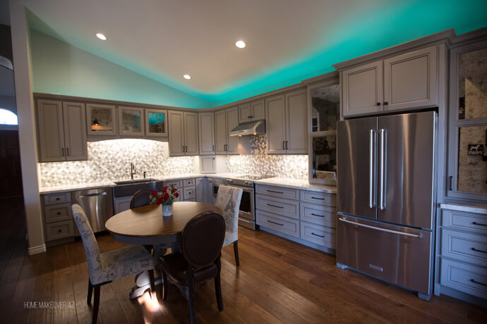 Before and After Kitchen Remodel Chandler, Arizona