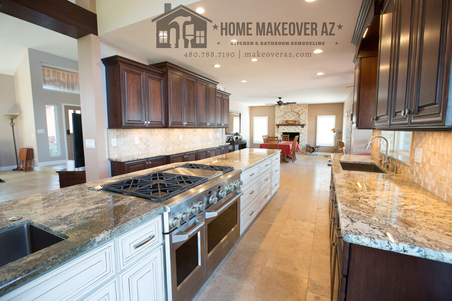 Double the space in kitchen remodel