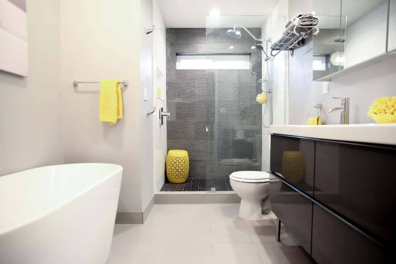Guest Bathroom Remodel Modern Style Arizona