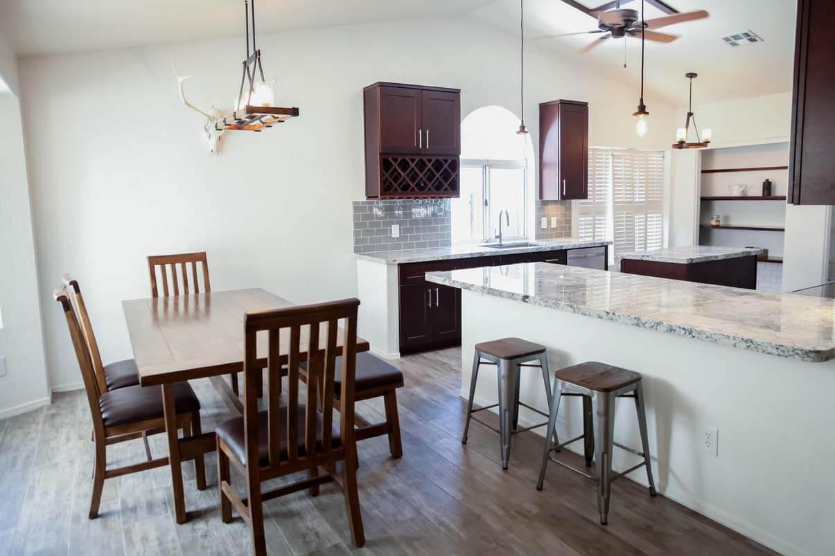 Open Concept Bright Kitchen Chandler, Arizona