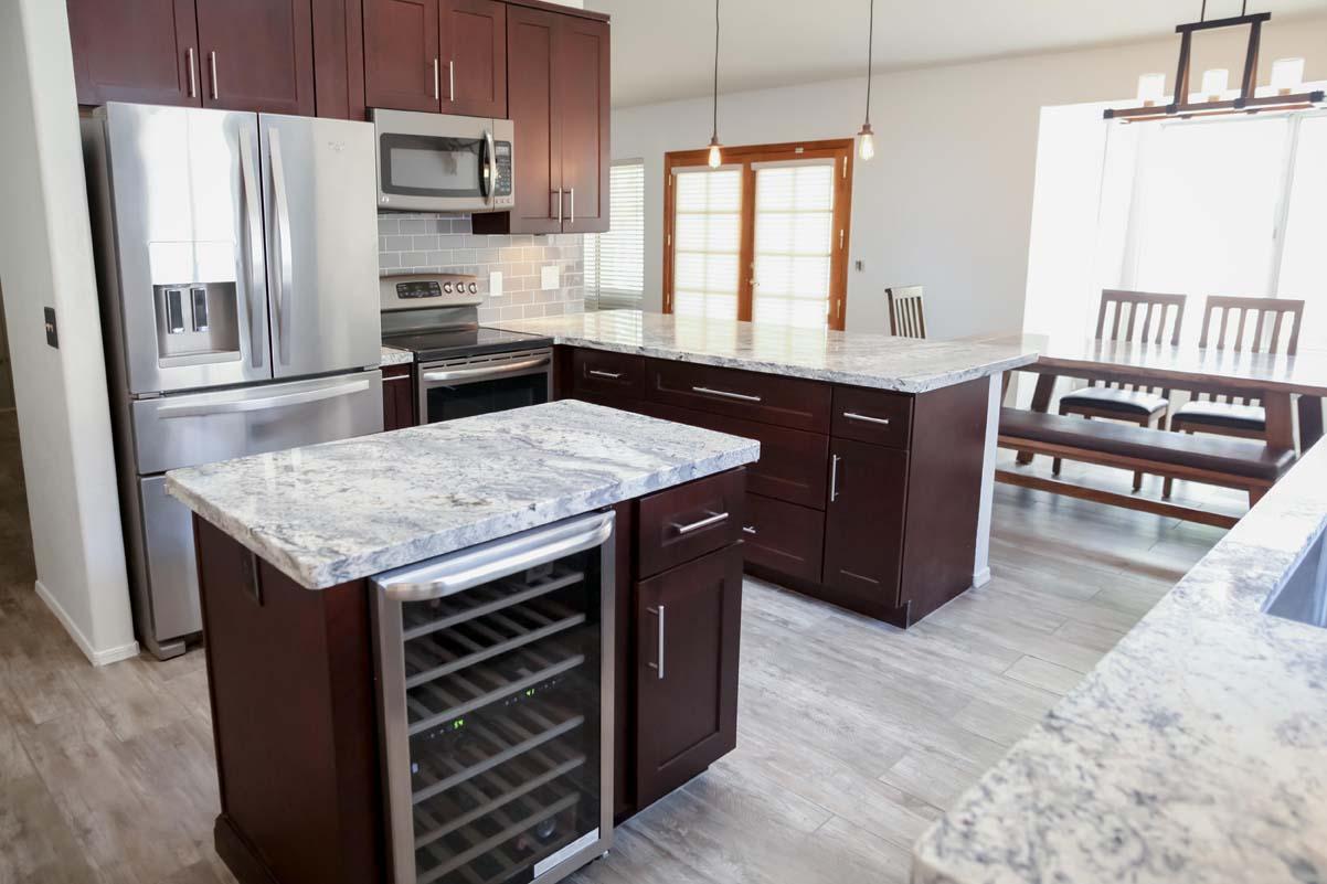 Small Kitchen Remodel Idea Tempe Arizona Home Makeover AZ