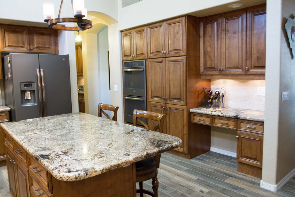 Southwestern Kitchen Remodel Cabinet Refacing Home Remodel Arizona