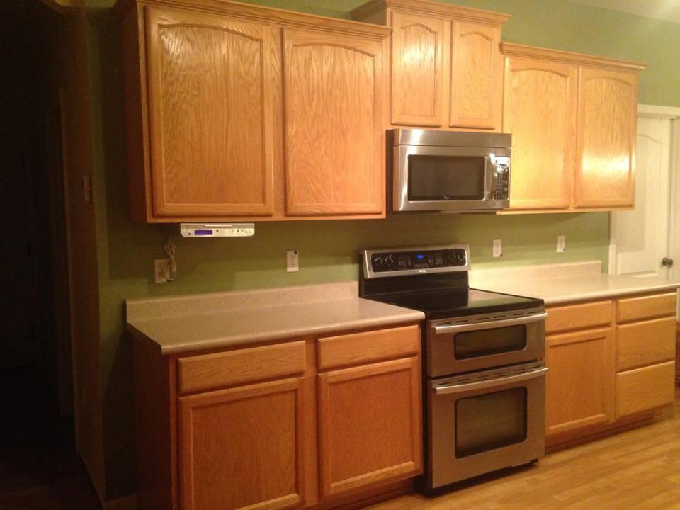 White cabinet kitchen remodel