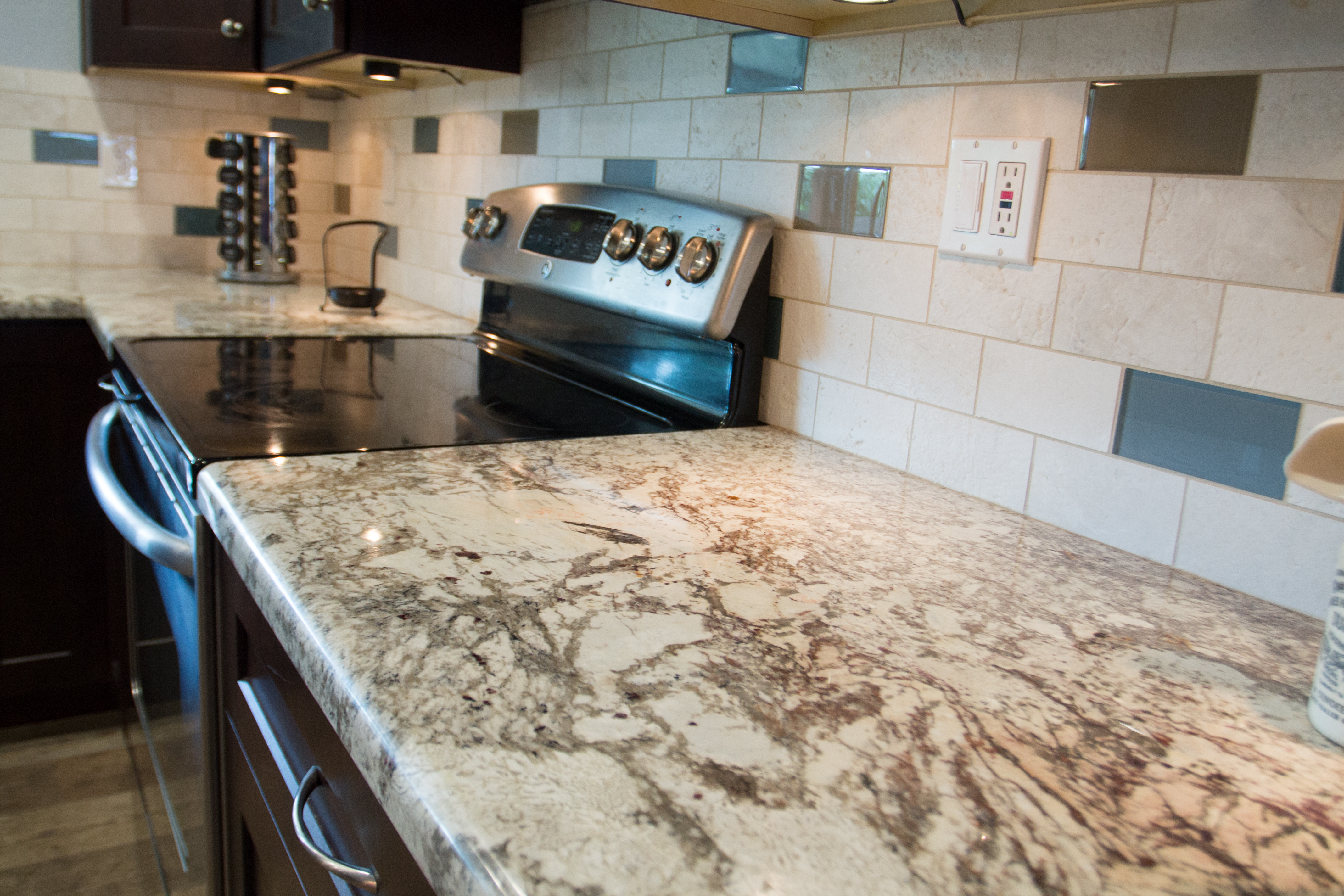 Kitchen removal with granite home makeover creations for Home creations